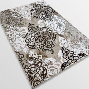 Акрилен килим - Елегант 9078 Кафяв
