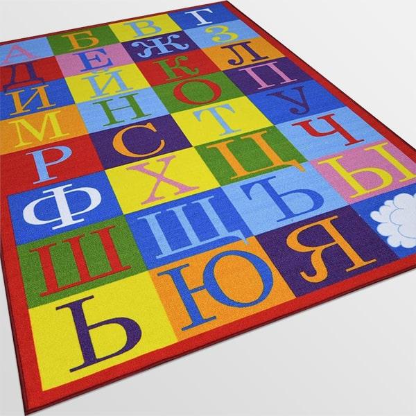 Детски килим – Азбука