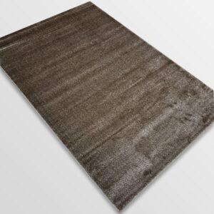 Едноцветен килим - Бела Кафяв