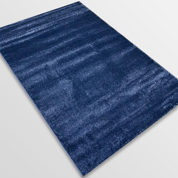 Едноцветен килим - Бела Син