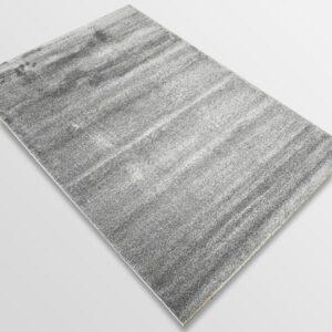 Едноцветен килим - Бела Сив