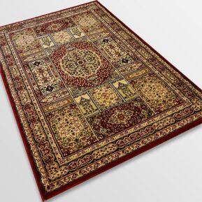 Класически килим – Корона 268 Червен