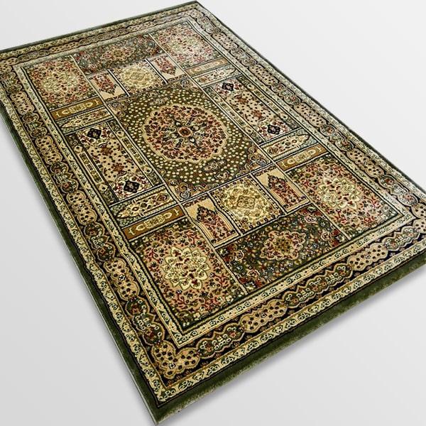 Класически килим – Корона 268 Зелен