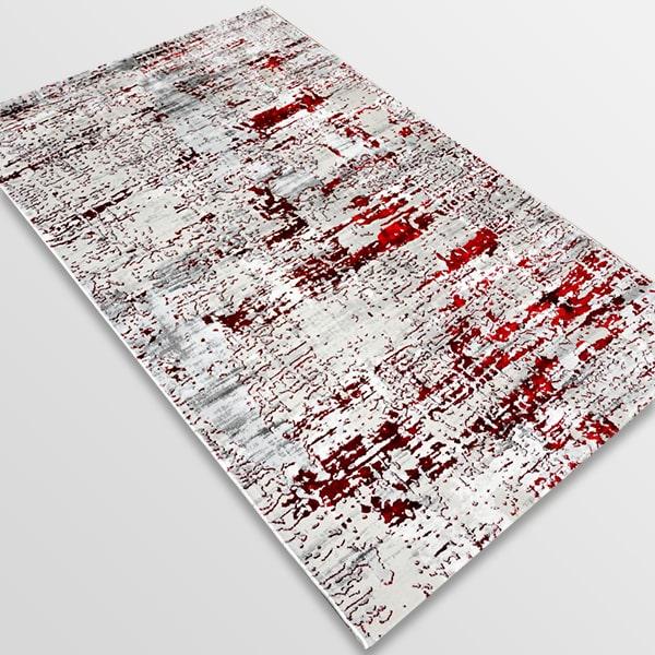 Модерен килим - Алпина 5628 Червен