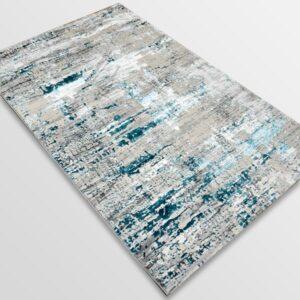 Модерен килим - Алпина 5628 Тюркоаз