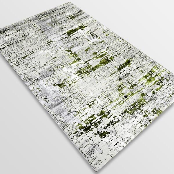 Модерен килим - Алпина 5628 Зелен