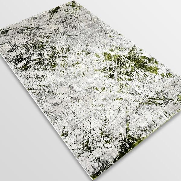 Модерен килим - Алпина 5629 Зелен