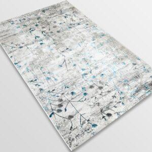 Модерен килим - Алпина 5641 Тюркоаз