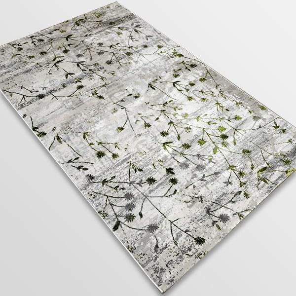 Модерен килим - Алпина 5641 Зелен