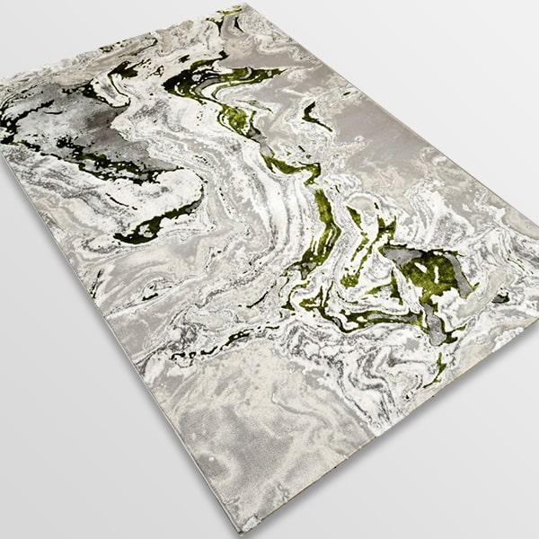 Модерен килим - Алпина 6050 Зелен