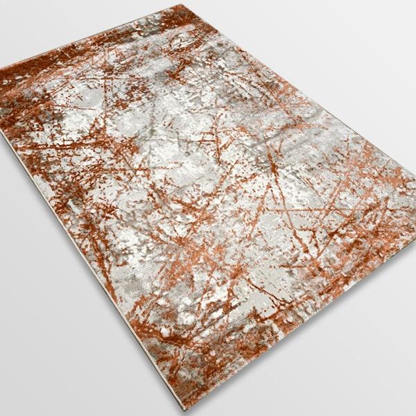Модерен килим - Атлас 855 Брик/Визон