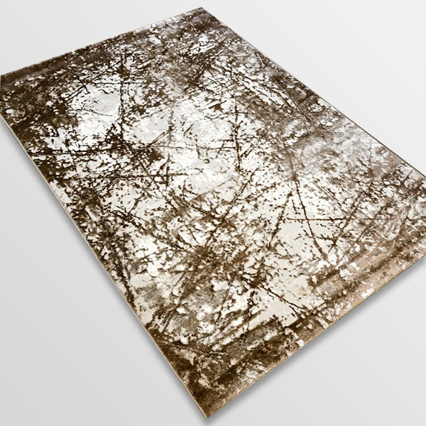 Модерен килим - Атлас 855 Тъмно Кафяв
