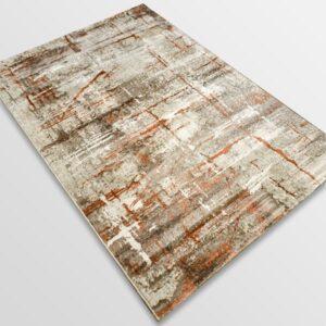 Модерен килим - Атлас 878 Брик/Визон