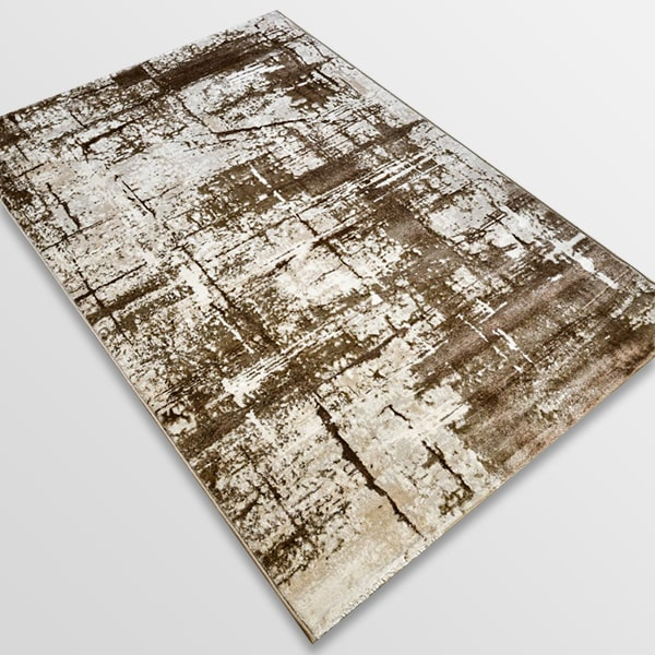 Модерен килим - Атлас 878 Тъмно Кафяв