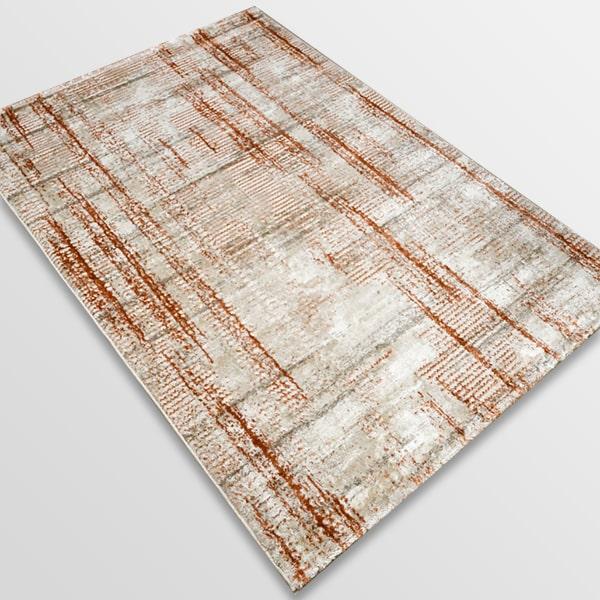 Модерен килим - Атлас 892 Брик/Визон