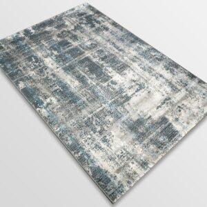 Модерен килим - Атлас 892 Син/Сив