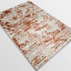 Модерен килим - Атлас 894 Брик/Визон
