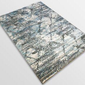 Модерен килим - Атлас 894 Син/Сив