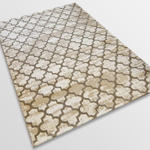 Модерен килим - Лора 7363 Бежов