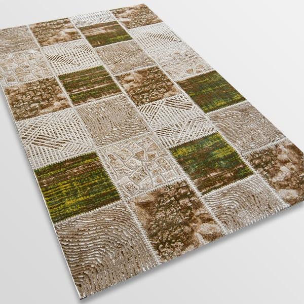 Модерен килим - Лора 7533 Зелен