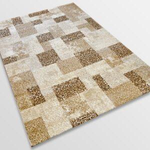Модерен килим - Лора 7753 Бежов