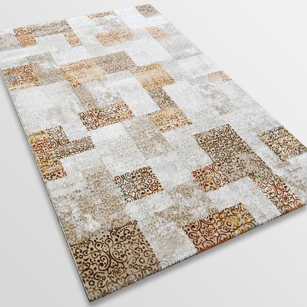 Модерен килим - Лора 7753 Крем