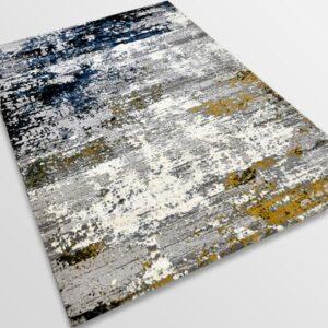 Модерен килим - Лора 7871 Крем/Сив