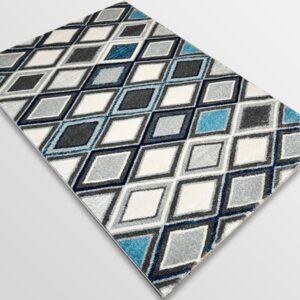 Модерен килим - Сена 1323 Син