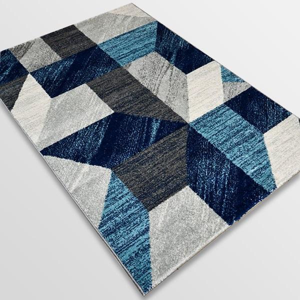 Модерен килим - Сена 1355 Син