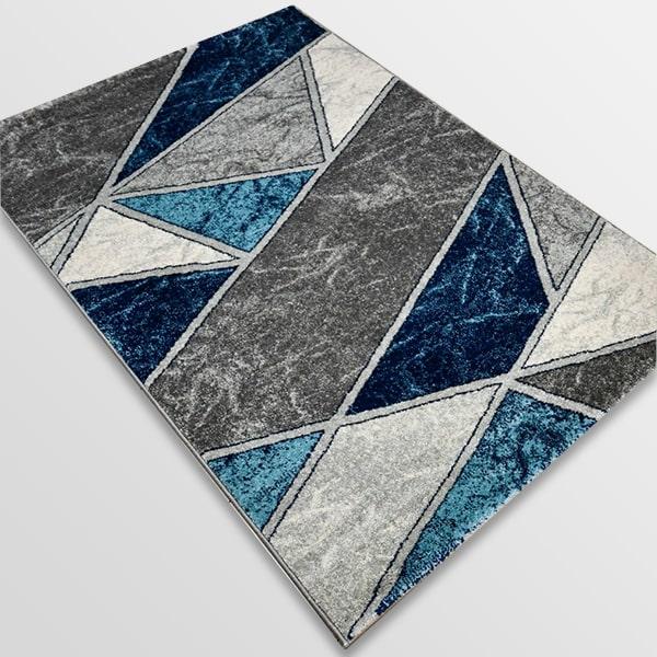 Модерен килим - Сена 1377 Син