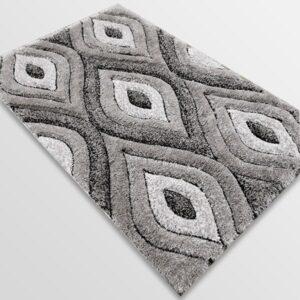 Рошав килим - 3Д Софт Шаги 311 Сив
