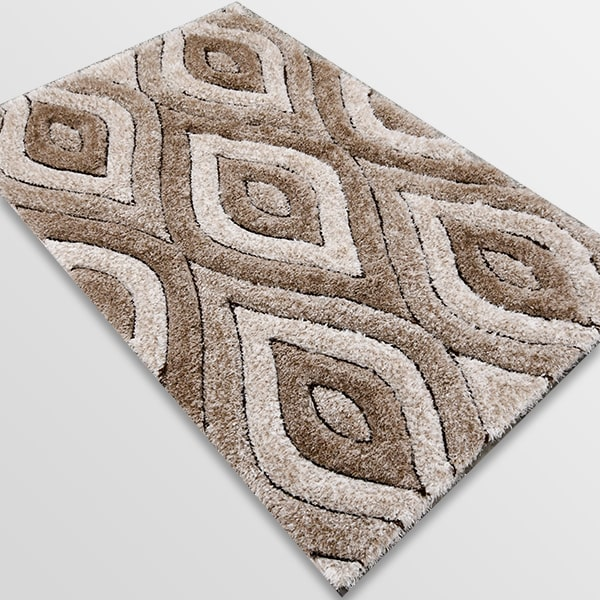 Рошав килим - 3Д Софт Шаги 311 Визон/Бежов