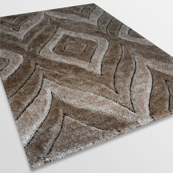 Рошав килим - 3Д Софт Шаги 315 Визон/Бежов