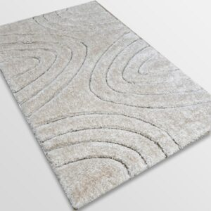 Рошав килим - 3Д Софт Шаги 325 Бежов/Визон