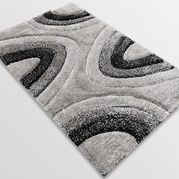 Рошав килим - 3Д Софт Шаги 325 Сив