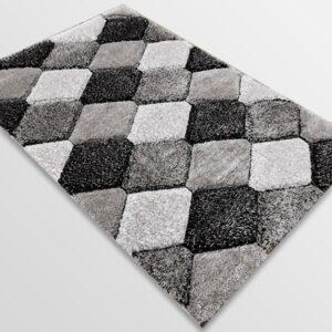 Рошав килим - 3Д Софт Шаги 420 Сив