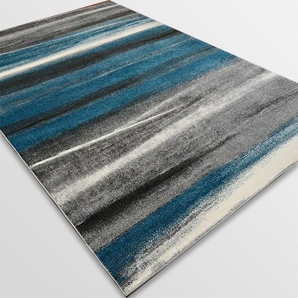 Модерен килим - Ирис 194 Син