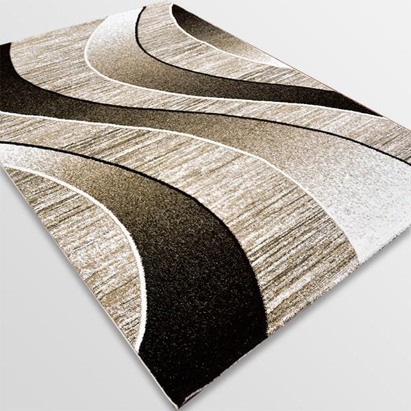 Модерен килим - Ирис 582 Бежов
