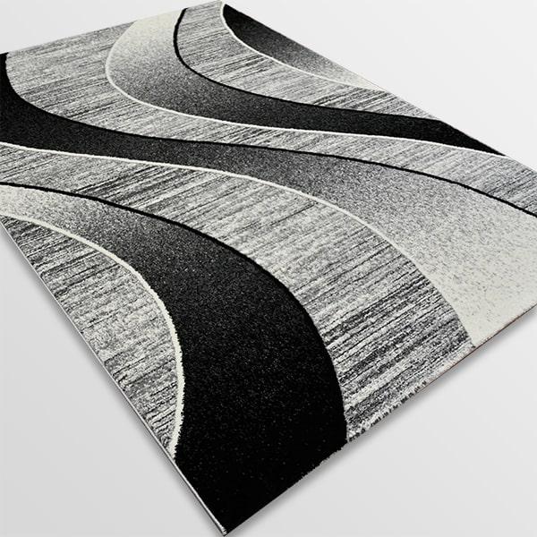 Модерен килим - Ирис 582 Сив