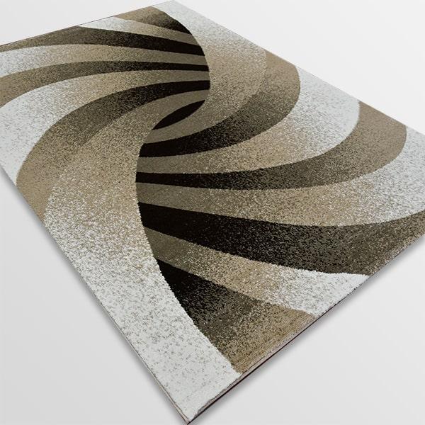 Модерен килим - Ирис 583 Бежов
