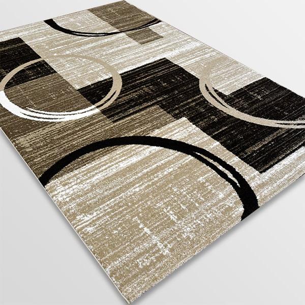 Модерен килим - Ирис 585 Бежов