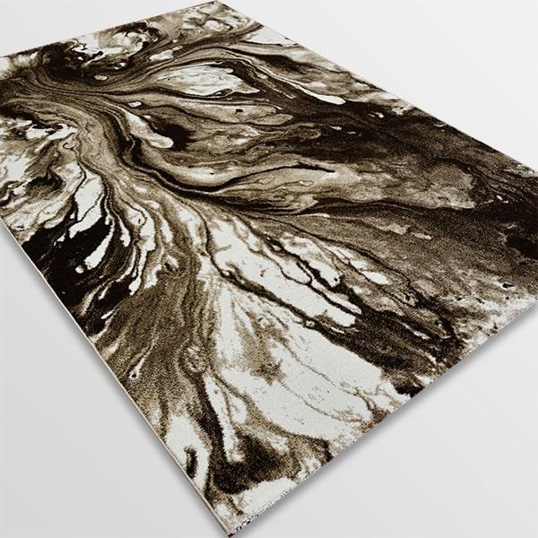 Модерен килим - Ирис 591 Бежов