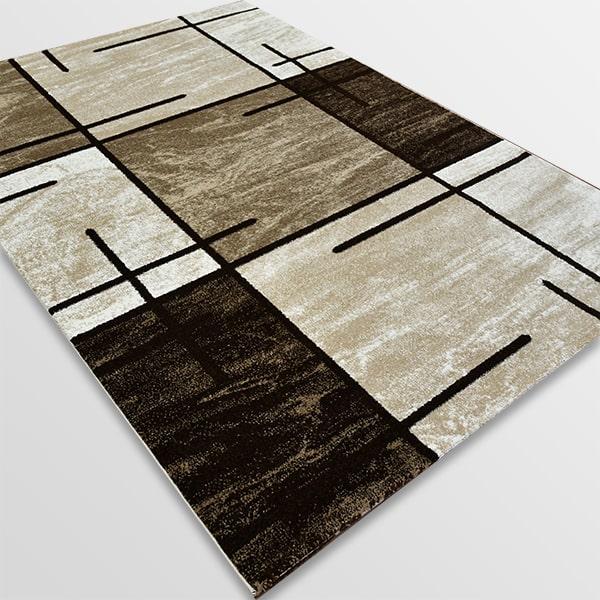 Модерен килим - Ирис 592 Бежов