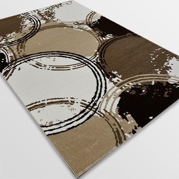 Модерен килим - Ирис 593 Бежов