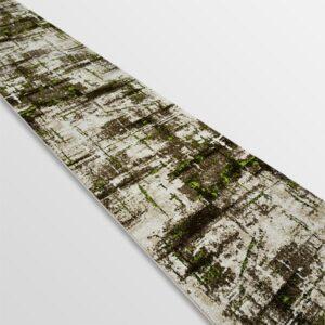 Модерна пътека - Ирис 595 Бежов/Зелен