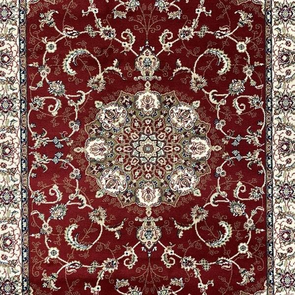 Акрилен килим - Елегант 5939 Червен - детайл - 1