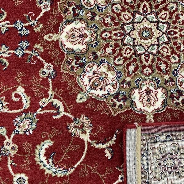 Акрилен килим - Елегант 5939 Червен - детайл - 3