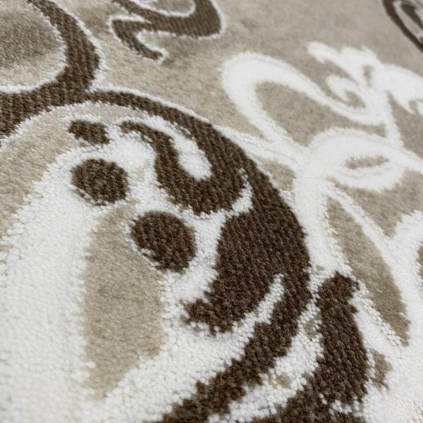 Акрилен килим - Елегант 9078 Кафяв - детайл - 2