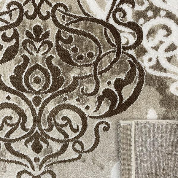 Акрилен килим - Елегант 9078 Кафяв - детайл - 3