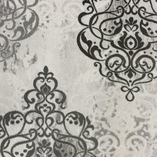 Акрилен килим - Елегант 9078 Сив - детайл - 1